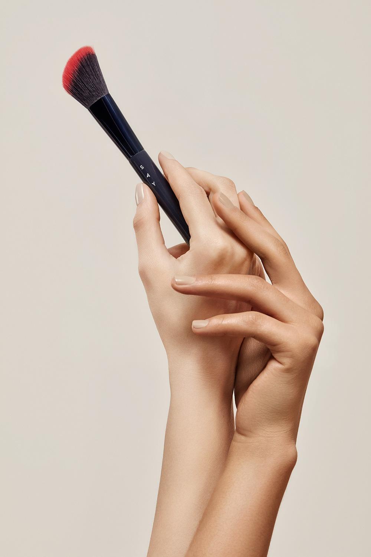 SAY Makeup - Pędzel do konturowania policzków nr 10